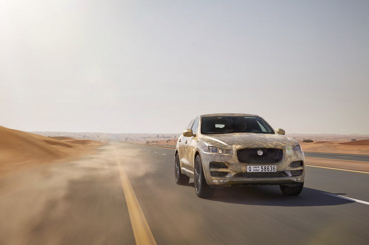 Jaguar FPACE Hot Weather Test