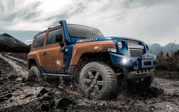 2020 Ford Troller TX4 in 2020 | Jeep wrangler, Jeep, Ford