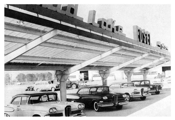 1958 Edsel Of Missoula Dealership, Missoula, Montana