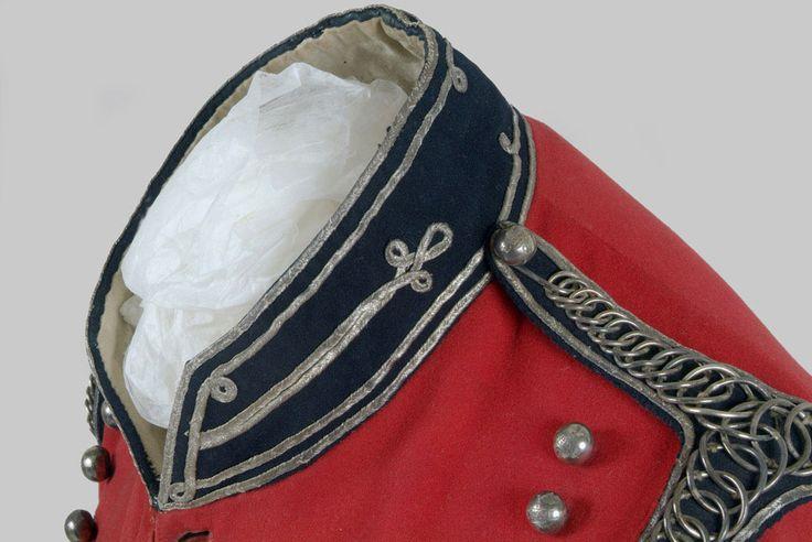 British;East Lothian Yeomanry Cavalry, Full Dress Jacket, c.1810, Detail