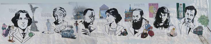 Street art – Literary Mural | Ebook Friendly
