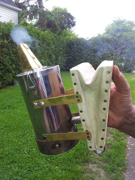 Picture of Bellows Bee Smoker For The Home Apiarist