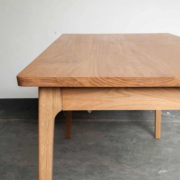 Ando Solid Wood Oak Dining Table | Decor8 Modern Furniture Hong Kong | Archinect