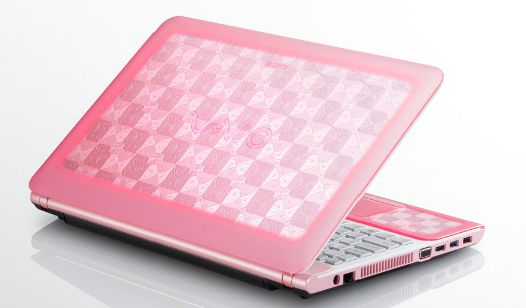 Sony Vaio Laptop Spring Re-fresh - very cool new colors