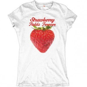 Strawberry Fields Forever Allinclusive Apparel Ladies T-shirt made in italy