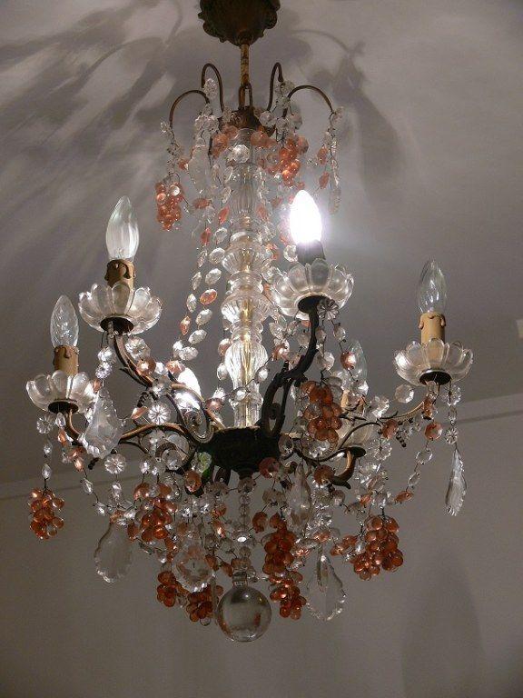 Lustre en cristal de MURANO Imelda Vintage - - Boutique en ligne bijoux