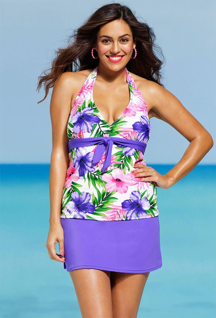 222 Best Plus Size Swim Suits Images On Pinterest  Womens Swimwear -5876