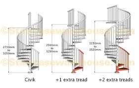 spiral staircase dimensions - Google Search
