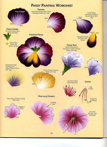 Donna Dewberry - Floral Bouquets - Ana Pintura 2 - Picasa Web Albums