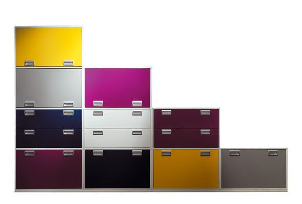 Chess, an original Office box storage and filing system from Ofita | Polo's Furniture Blog