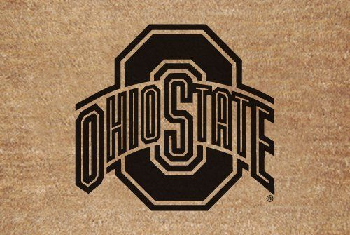 "Ohio State Flocked Door Mat by The Memory Company. $28.95. Size 29.2"" x 19.5"". Greet your guests in style with this NCAA® door mat from The Memory Company®. It features a flocked coir fiber construction, boasts a skid-resistant rubber bottom, and is decorated with the team logo."