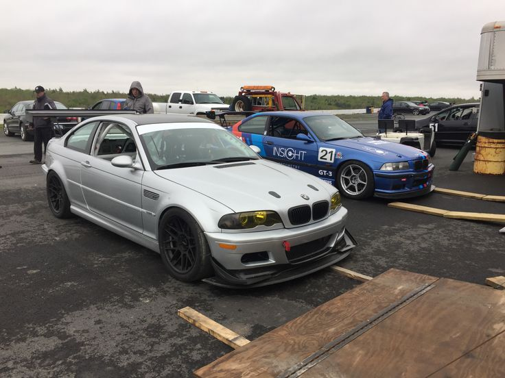E46 m3 race car of matt trivett