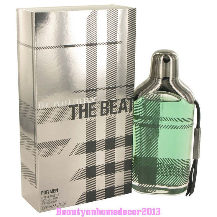 The Beat by Burberry 3.4 oz / 100 ml EDT Cologne Spray for Men New in Box #Burberry