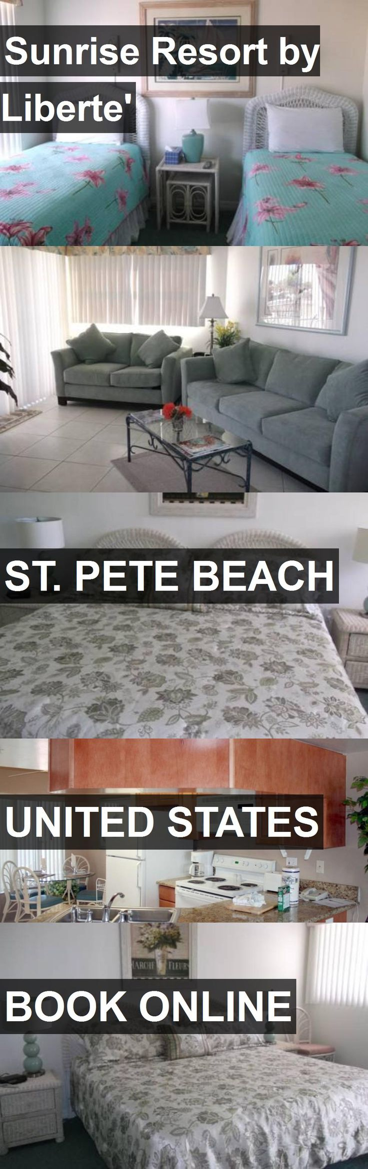Hotel Sunrise Resort by Liberte' in St. Pete Beach, United States. For more information, photos, reviews and best prices please follow the link. #UnitedStates #St.PeteBeach #SunriseResortbyLiberte' #hotel #travel #vacation