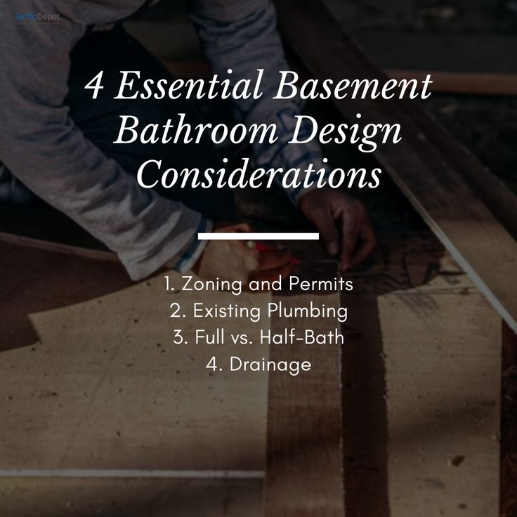 Even If You Don T Need To Consult With A Plumber And Are Not Planning To Dig Up Your Concrete Floor Understanding A In 2020 Basement Bathroom Design Plumber Plumbing
