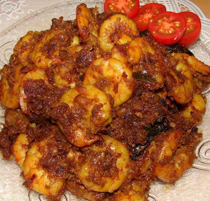 Spicy Prawn Masala