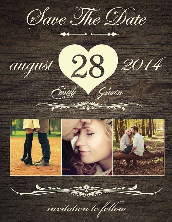 Hey, I found this really awesome Etsy listing at https://www.etsy.com/listing/189512630/save-the-date-magnet-or-card-rustic