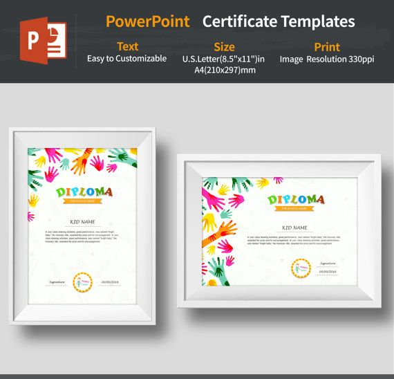 Powerpoint certificate template diplomascertificateseditable for best certificate templates images on certificate toneelgroepblik