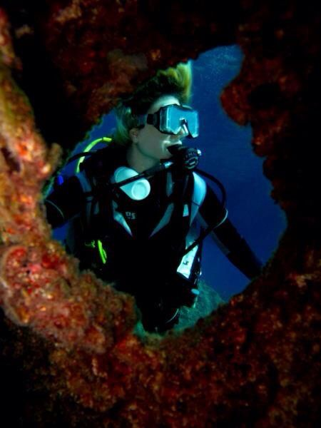 Underwater, Kaş Turkey
