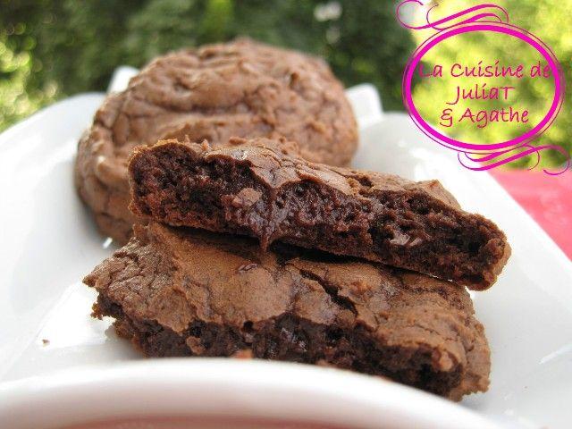 Cookies moelleux tout chocolat 4w