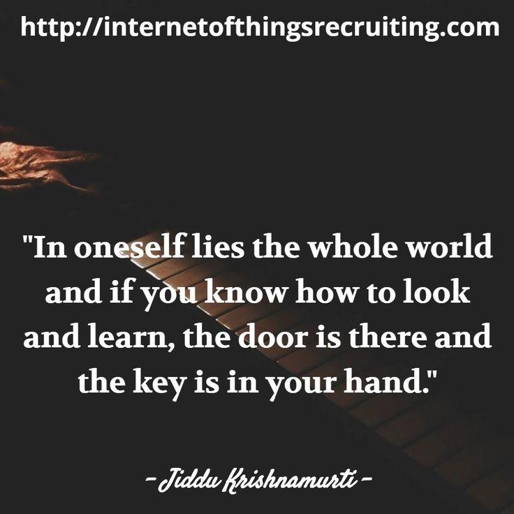 #digitalmarketing RT billsoftnet: Great #Quote by Jiddu Krishnamurti #QOTD #Inspiration #QuotesToLiveby #QuotesFor http://pic.twitter.com/tn3g4rzMX1 Digital Marketing 4U (@_Digital_MKT_) September 21 2016