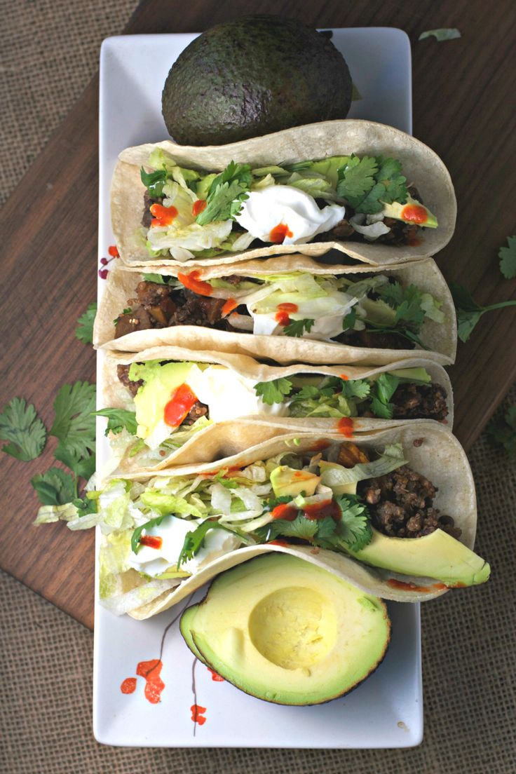 Just whip out the tortillas and toppings, and dinner can be on the table in minutes.