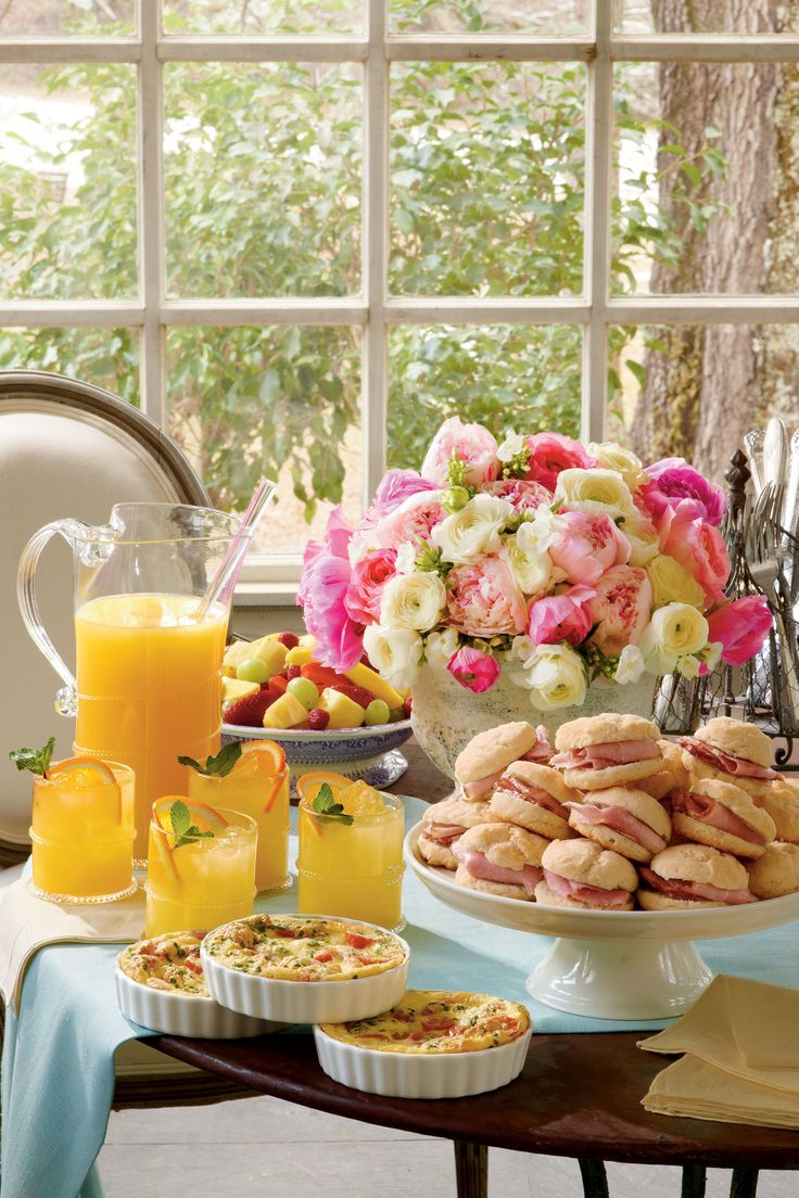 ideas for bridal shower brunch food%0A Use these easy shower ideas and shower recipes for your next baby shower  and wedding shower  The best part about it is nothing takes more than     minutes