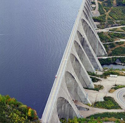 Daniel Johnson Dam, Quebec, Canada / Register at www.wildcanadasalmon.com for 50% Off Your First Order, CLOSING SOON!