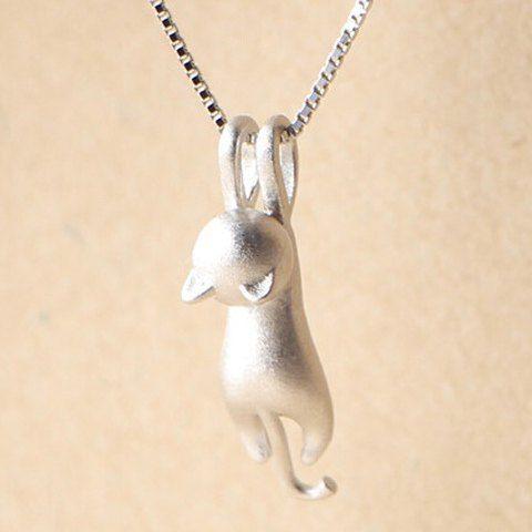 »Kitten Shape #Necklace« #jewelry