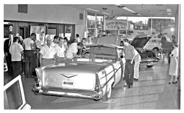 1950'S Chevrolet Dealership