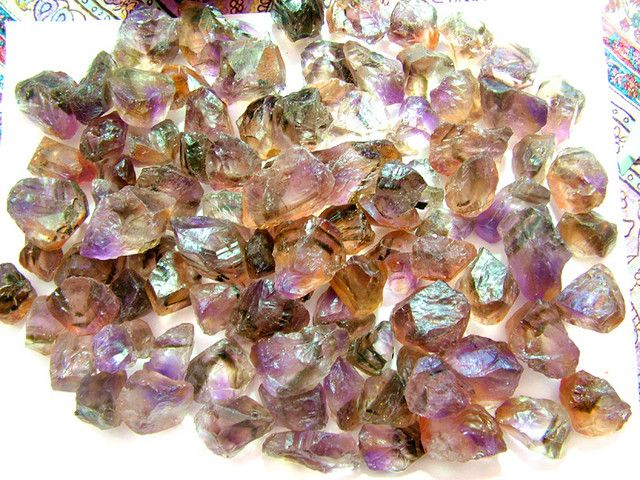 AMETRINE NATURAL ROUGH 7000 CTS ametrine gemstone, ametrine
