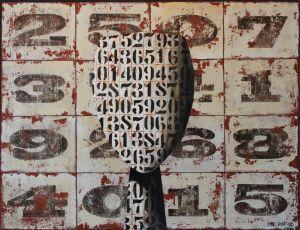Paul Radford, 'Termini' (2012) Acrylic on board, 1225 x 1620 mm, POA at the Remuera Gallery