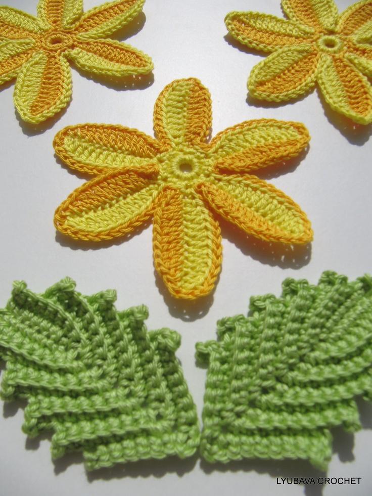 17 Best images about Crochet Leaf on Pinterest Irish ...