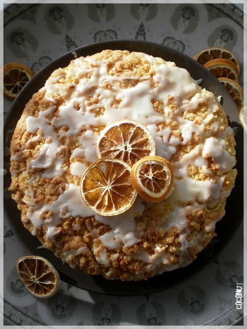 Meyer Lemon Coffeecake