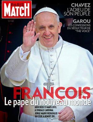 Le pape François (Paris Match, mars 2013)