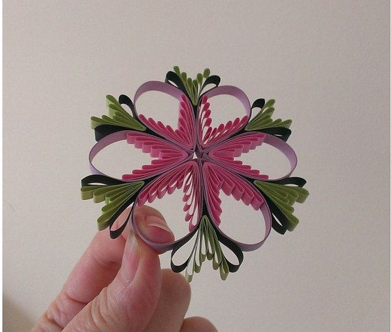 Quilling Tutorial quilling pattern and template by evascreation