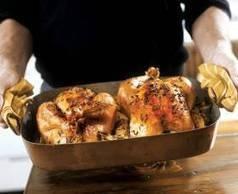 Μαγειρεύοντας με κοτόπουλο