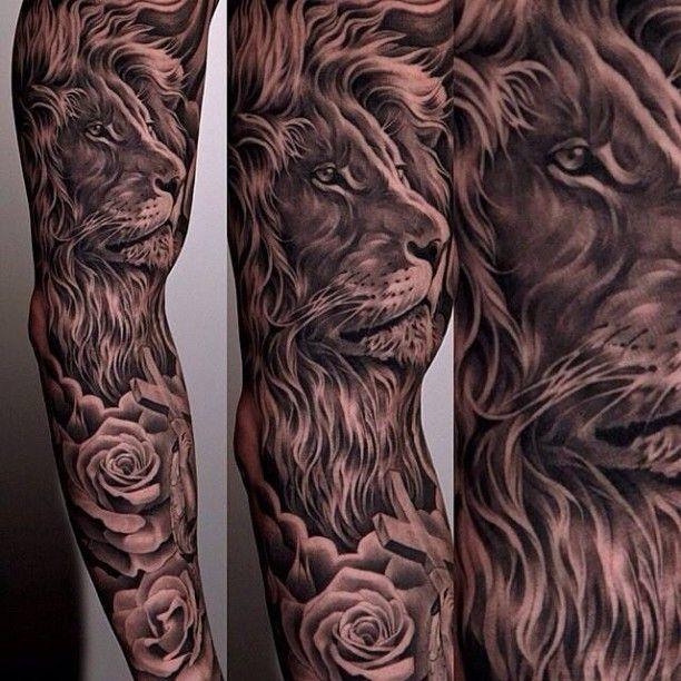 Löwenkopf Tätowierung Tattoos Ideen Auf Pinterest - Tatowierung Bilder