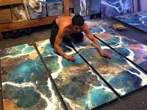 Ben Hecht, encaustic artist