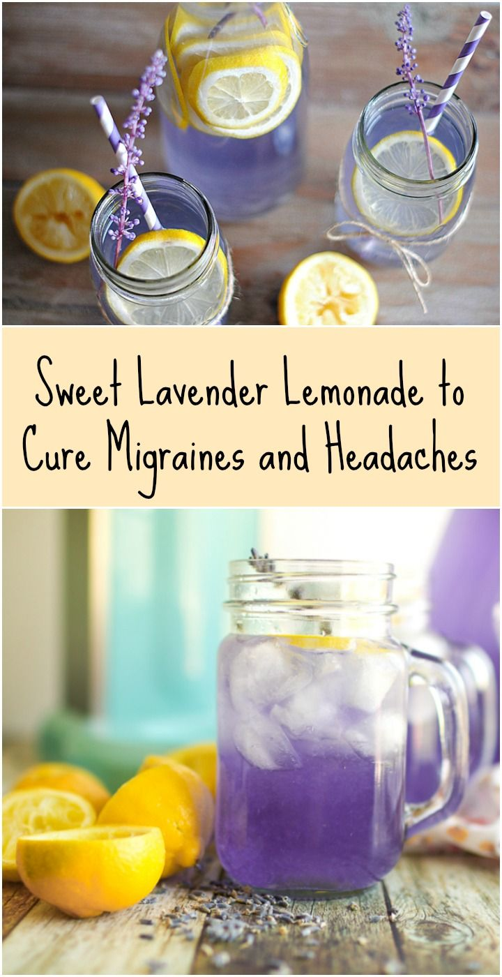 Sweet Lavender Lemonade to Cure Migraines and Headaches - Ritely