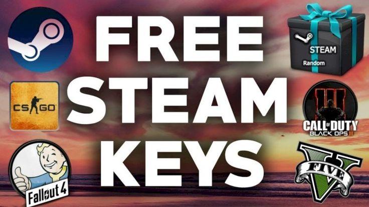 Get a free random steam keys in 2020 digital gift card