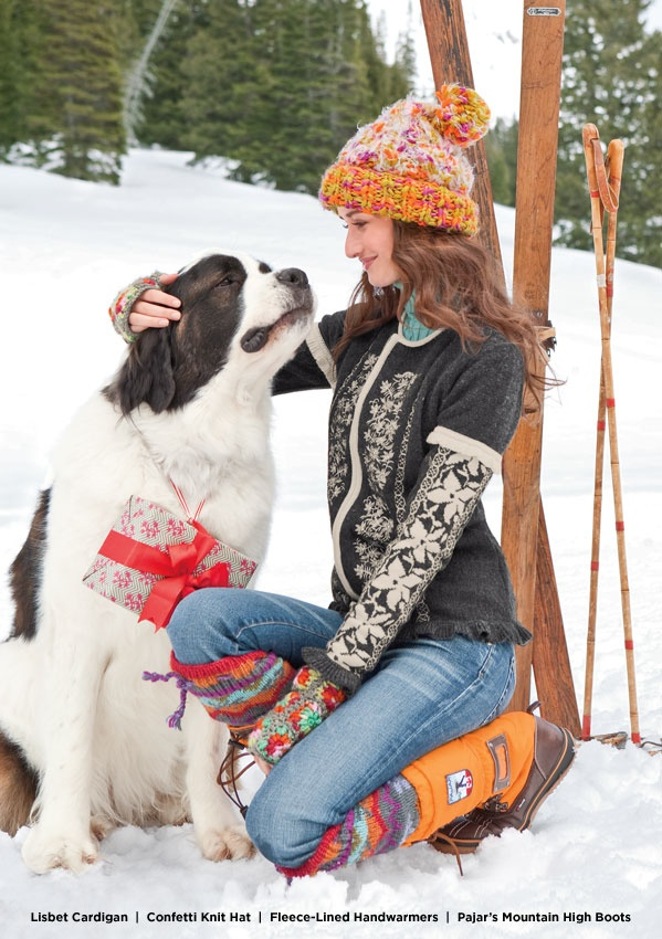 This sweater- that hat. those boots,..the dog. Can I order them all?