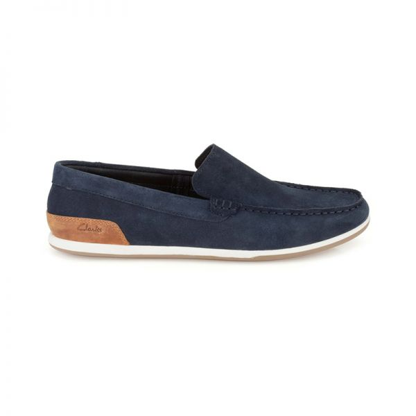 Medly Sun by #Clarks Blue leather xigoros.com