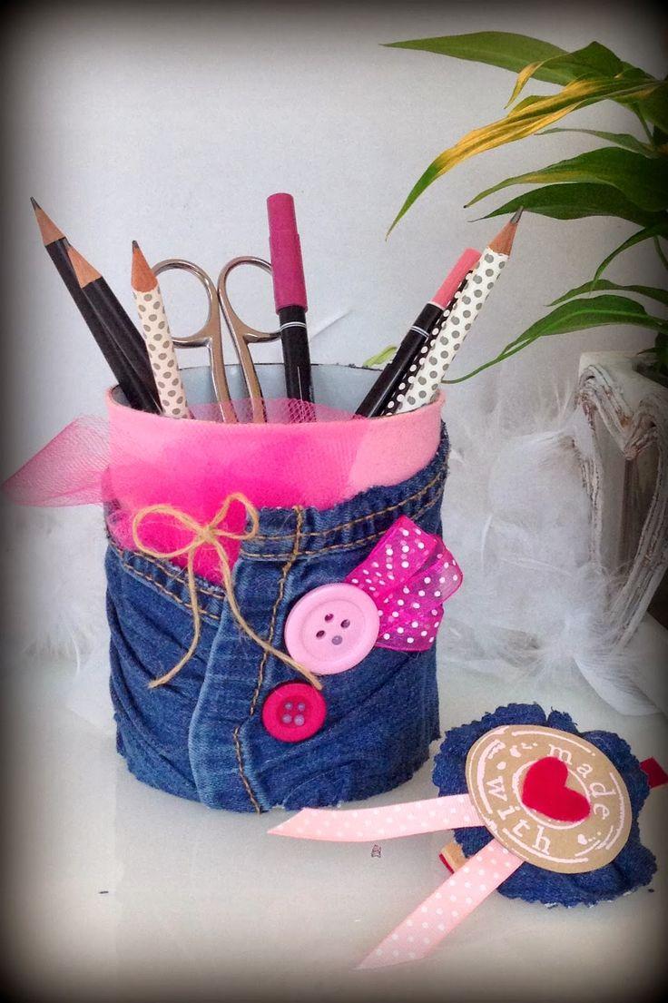 Groseilles & CO: Pot à crayons...