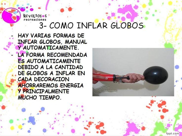 3 | COMO INFLAR GLOBOS CURSO DECORACION CON GLOBOS | BALLOON DECORATION ...
