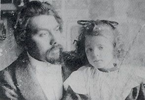 Jan Toorop with Charley, 1890s
