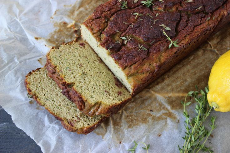 Courgette en citroencake met tijm - Powered by @ultimaterecipe
