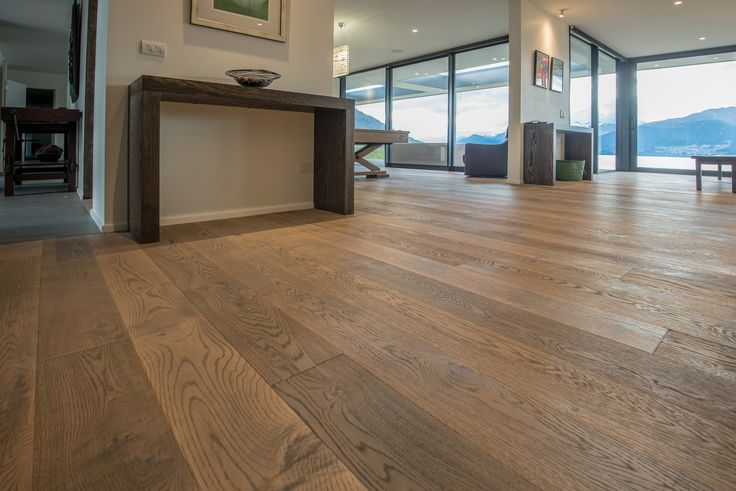 THE PRESERVE - JACKS POINT  by HARO Flooring New Zealand  #LuxuryResidential Accommodation facing #LakeWakatipu in Jacks Point - Queenstown  Year: 2015 Area: 158m2 Location: Jacks Point, #Queenstown Product: #TimberFlooring Plank 1-Strip 4V #OakTobaccoGrey Sauvage. Builder: #BayshoreBuilders Photo Credits: #NielsKoervers