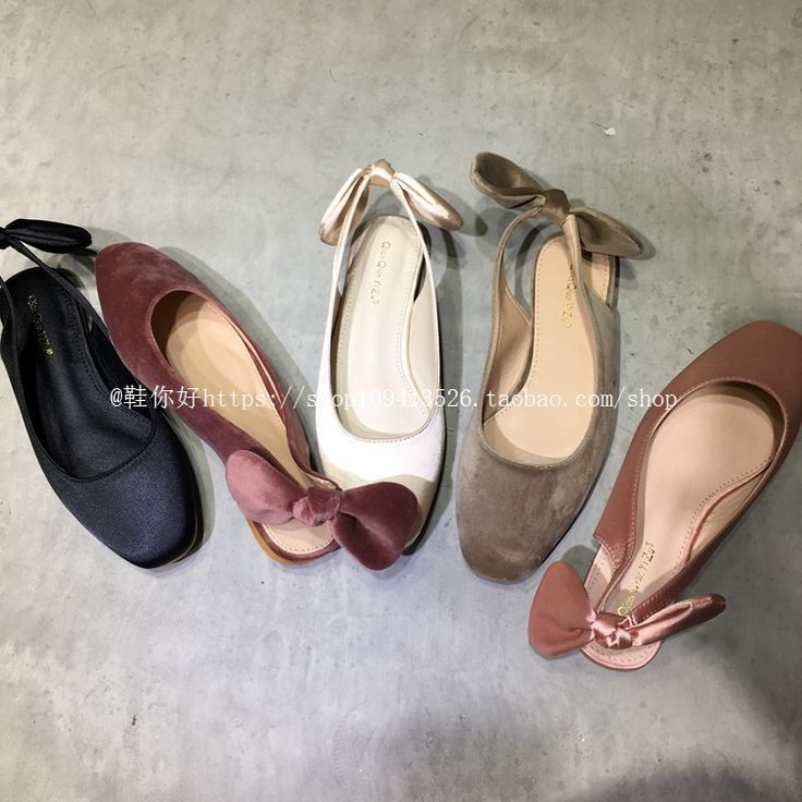 Brand design woman shoes bow knot flats shoes woman espadrilles ladies silk velvet shoes back bow design loafers luxury velvet-in Women's Flats from Shoes on Aliexpress.com | Alibaba Group