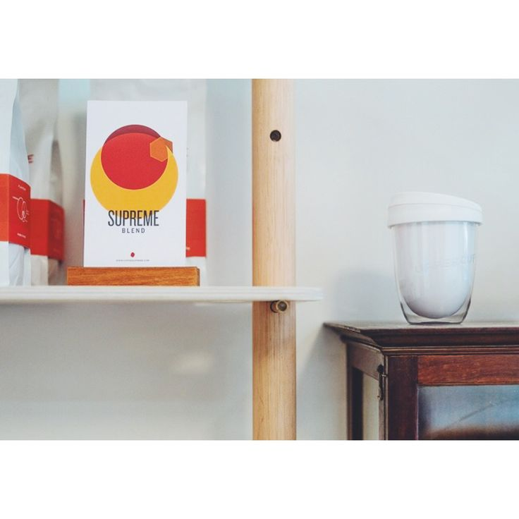 Shelf hangs.